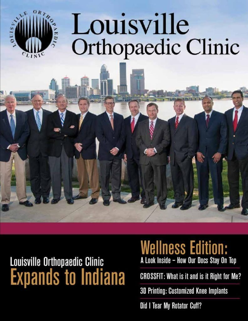 Louisville Orthopedic Clinic Magazine 2016