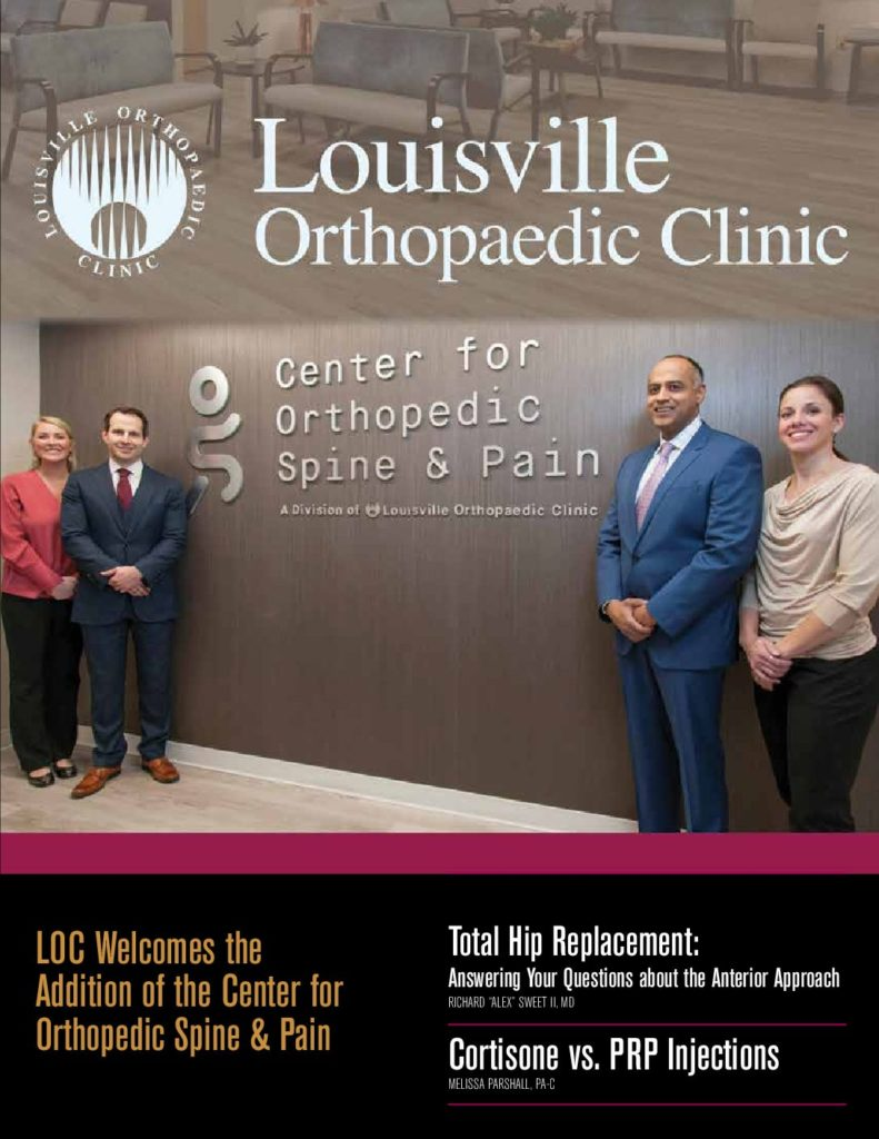 Louisville Orthopedic Clinic Magazine 2018