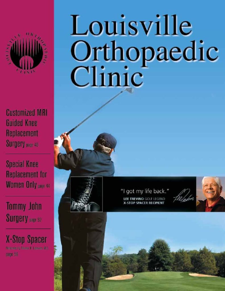Louisville Orthopedic Clinic Magazine 2009